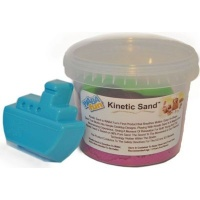 kinetic sand 800g pink with mould sport outdoor toy