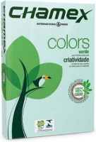 chamex tinted colour paper a4 1 ream 500 sheets green school supply