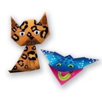ses childrens folding animal set craft supply