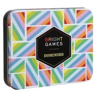 chronicle books bright games dominoes game learning toy