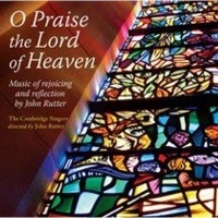 rutter o praise the lord music cd