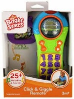 bright starts click and giggle remote musical toy