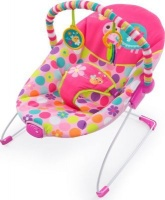 bright starts vibrating bouncer pretty safari pram stroller