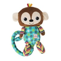 bright starts roll and laugh monkey musical toy