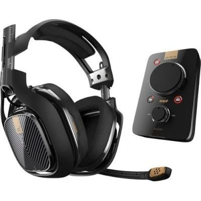 Photo of Astro A40 Over Ear Gaming Headset Kit for PS4/PS3/PC with Mixamp Pro TR