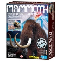 4m kidz labs dig a mammoth learning toy