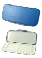 mijello 18 well folding plastic palette blue art supply