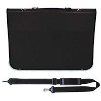 mapac academy portfolio black shoulder strap included a3 art supply