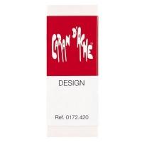 caran dache design eraser for graphite and coloured pencils art supply