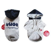 dogs life hooded tee blue extra small clothe