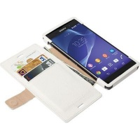 krusell malmo flip case for sony xperia z3 white