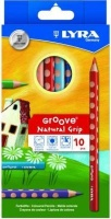 lyra groove coloured pencils 10 pack office machine
