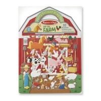 melissa and doug puffy sticker play set on the farm arts craft
