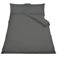 simon baker oxford egyptian cotton duvet set grey super bath towel