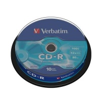 verbatim cd r extra protection cds spindle 10 tablet pc