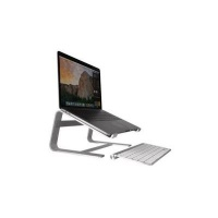macally aluminium stand for 17 notebooks silver accessory