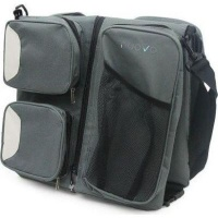 3 in 1 baby bag grey baby toy