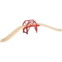 brio curved bridge electronic toy