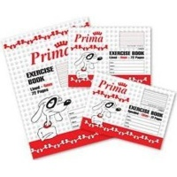 prima scholastic lined exercise book a5 4mm 72 pages other