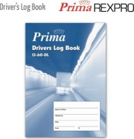 prima drivers log book a5 40 pages staple bound other