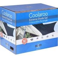 coolaroo extreme shade sail rectangle 5x3m pools hot tubs sauna