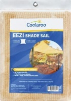 coolaroo eezi shade sail sqaure 25m pools hot tubs sauna