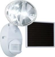 eaton solar panel led floodlight with motion sensor white light bulb
