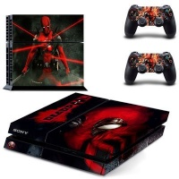 skin nit decal for ps4 deadpool ps4 accessory