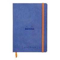 sapphire rhodia goalbook dot pad 90gsm 120 sheets a5 art supply