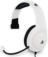 4gamers pro4 chat gaming headset for ps4 white black ps4 accessory