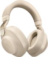 jabra elite 85h over ear heaset gold beige headphone