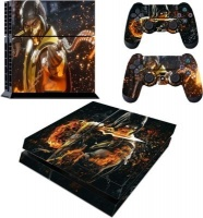 skin nit decal for ps4 scorpion fire ps4 console