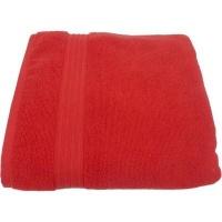 buntys luxurious 570gsm zero twist bath towel 70x130cms red bath towel