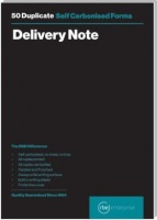 rbe a5 delivery note duplicate pads of 3 other