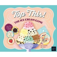 chronicle books top this the ice cream game learning toy