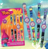 trolls digital watch 4 straps activities amusement