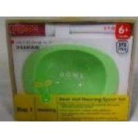 pigeon bowl and weaning spoon set feeding