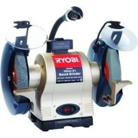 Ryobi Bench Grinder with Light Wheel Dresser
