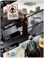 Triple Pack District 9 2012 Battle Los Angeles
