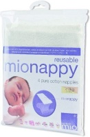 bambino mio mionappy cotton nappies size 1 4 pack bag