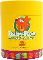 jarmelo baby roo washable markers 48 art supply