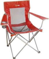 afritrail duiker mesh back folding armchair camping