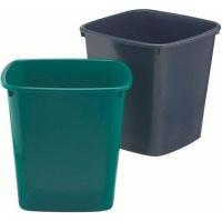 bantex b9820 waste paper bin 20l anthracite grey school supply