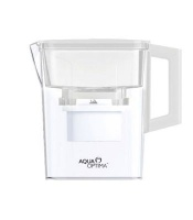 aqua optima water jug 21lt and 30 day filter compact white health product