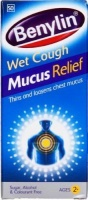 benylin mucus relief wet cough syrup 100ml health product