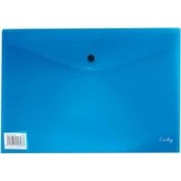 croxley a4 envelope with button 12 pack blue school supply