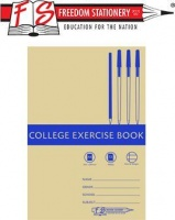 freedom feint margin college exercise book a4 72 page of other