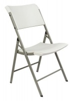 bushtec high density polyethylene folding chair camping