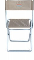 bushtec fishing chair with backrest camping