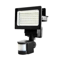 link 84 led motion sensor solar flood light camera len